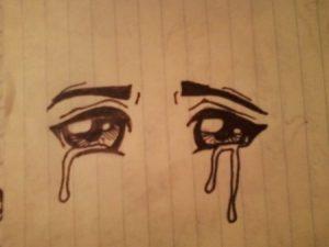 صور عيون دموع 1 450x338 300x225 صور دموع عيون تبكي ورمزيات عيون حزينة للواتساب