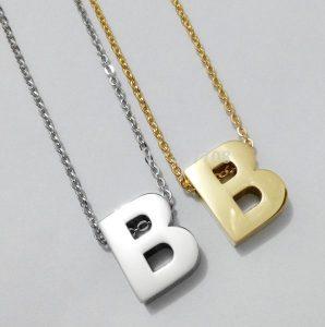 New 2015 18K font b Gold b font Silver Plated No Fade Big font b Letter 596x600 298x300 صور حرف b مع كل الاحرف , صور الحروف رومانسية حب
