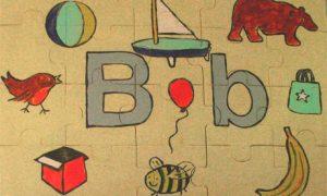 The letter B on a jigsaw 007 300x180 صور حرف b مع كل الاحرف , صور الحروف رومانسية حب