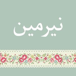 f43 صور ِاسم نرمين مزخرف انجليزى , معنى اسم نرمين و شعر و غلاف و رمزيات