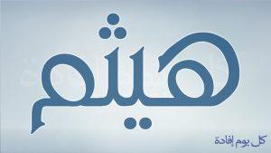 maxresdefault 39 300x169 بالصور اسم هيثم عربي و انجليزي مزخرف , معنى اسم هيثم وشعر وغلاف ورمزيات