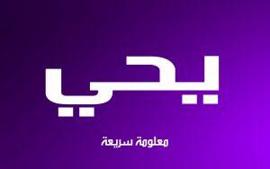 maxresdefault 6 1 300x188 افتراضي بالصور اسم يحيى عربي و انجليزي مزخرف , معنى اسم يحيى وشعر وغلاف ورمزيات