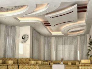 -جبس-المجالس-1-450x338-300x225 صور ديكورات غرف جبسية , تصميمات عالمية جبس بورد