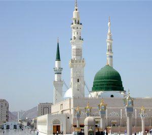 المسجد-النبوي-الشريف-1-300x266 صور المسجد الحرام , صور المسجد النبوى الشريف في قمة الروعة