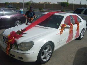 -سيارات-الزفاف-2-450x338-300x225 صور تزيين السيارات , تشكيلة سيارات مغطاه بالزينة