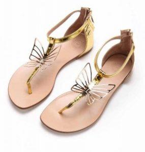 صندل حريمي 428x450 285x300 احذية نسائية جميلة , اجمل تشكيلة احذية صيفية