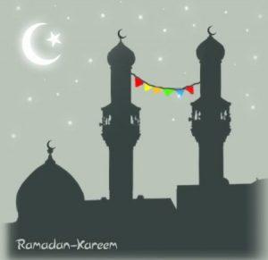 صور خلفيات ورمزيات لشهر رمضان 2017 4 450x437 300x291 صور مكتوب عليها رمضان كريم لرمزيات وخلفيات فيس بوك