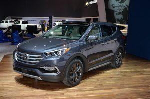 2017-Hyundai-Santa-Fe-Sport-front-three-quarter-300x199 صور عربيات هيونداي, صور السيارة هيونداي سنتافي, Hyundai Santafe photo