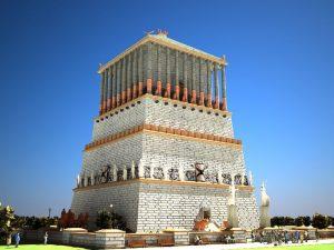 4931e69fe3bf1b78d585c0a1aad379d2-world-wonders-mausoleum-at-halicarnassus-300x225 صور عجايب وغرايب حول العالم, عجائب الدنيا السبع الجديدة, Photos world wonders