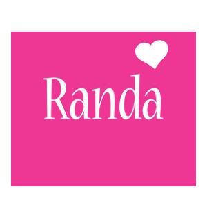 Randa designstyle love heart m صور ِاسم رندا مزخرف انجليزى , معنى اسم رندا و شعر و غلاف و رمزيات
