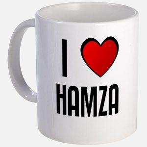 i love hamza mug 300x300 صور ِاسم حمزة مزخرف انجليزى , معنى اسم حمزة و شعر و غلاف و رمزيات