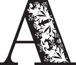 letter-a-300x256 صور حروف انجليزية رومانسية روعة, صور حروف انجليزية متحركة مزخرفة