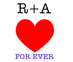 r a love for ever 132762179813 300x255 افتراضي صور حرف A مع r , صور A و R رومانسية حب