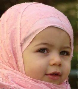 احلي اطفال محجبات 262x300 صور اطفال بنوتات صغيره , احلى صور الاطفال بالحجاب