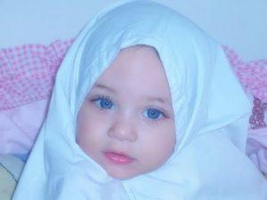 اطفال محجبات 4 450x338 300x225 صور اطفال بنوتات صغيره , احلى صور الاطفال بالحجاب