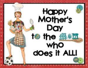 بطاقات تهنئة لعيد الأم 3 450x348 300x232 صور مميزة وبطاقات للتهنئة بعيد الام , كفرات وخلفيات جميلة لعيد الام