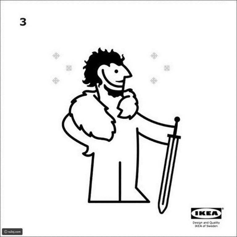 طريقة-ارتداء-الكايب-من-ايكيا-768x768 ملابس غريبة من سجاد IKEA  , سجاد IKEA يلبس ضمن ملابس صراع العروش