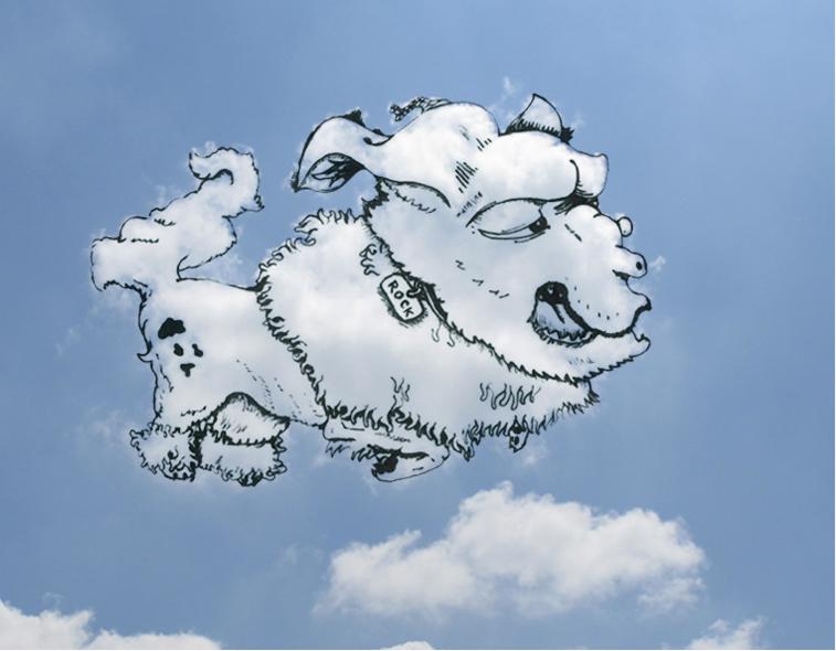 Shaping Clouds Martin أغرب اللوحات الرسم على السحاب