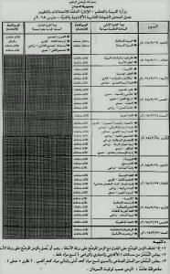 جدول-2018-186x300 جدول امتحانات الشهادة السودانية 2018