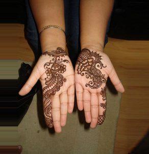 5-21-292x300 يوم العرس إعتمدي أجمل نقش حناء عماني!